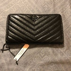 Victoria's Secret black wallet